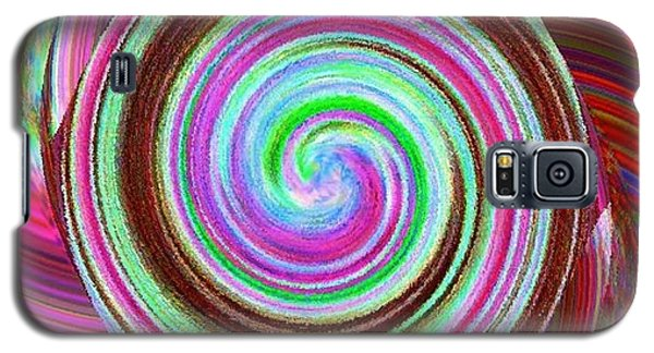 Galaxy S5 Case featuring the digital art Shell Shocked by Catherine Lott
