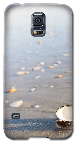 Galaxy S5 Case featuring the photograph Shells 02 by Melissa Sherbon