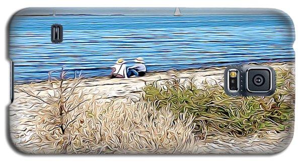 Shelter Island Beach Galaxy S5 Case