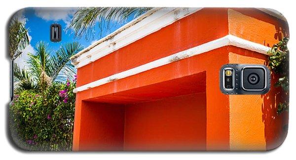 Shelter Orange Galaxy S5 Case by Melinda Ledsome