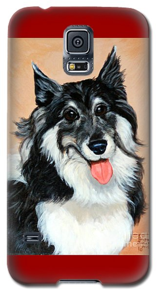 Sheltie Galaxy S5 Case