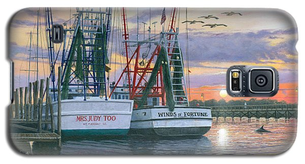 Shem Creek Shrimpers Charleston  Galaxy S5 Case