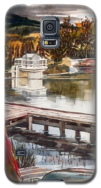 Shepherd Mountain Lake In Twilight Galaxy S5 Case