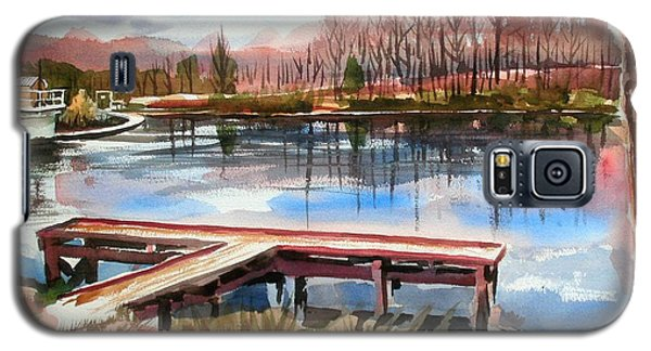 Shepherd Mountain Lake In Winter Galaxy S5 Case by Kip DeVore