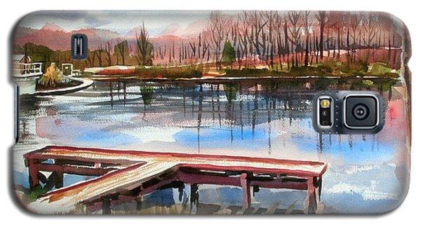 Shepherd Mountain Lake In Winter Galaxy S5 Case