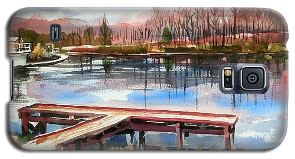 Shepherd Mountain Lake In Winter Galaxy S5 Case