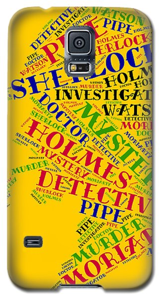 Sherlock Holmes Galaxy S5 Case by Bruce Nutting