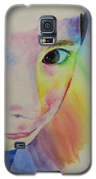 She's A Rainbow Galaxy S5 Case by Martin Howard