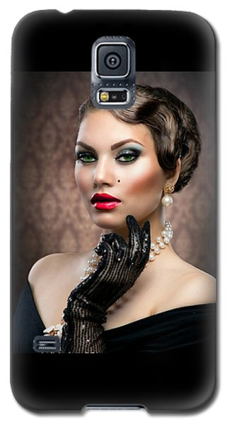 She's Got Class Galaxy S5 Case by Karen Showell