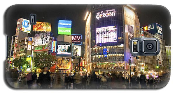 Shibuya Crossing At Night Tokyo Japan  Galaxy S5 Case