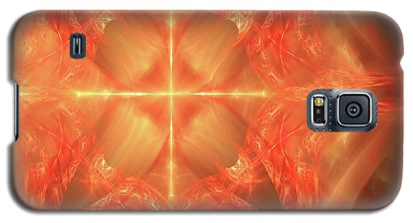 Galaxy S5 Case featuring the digital art Shield Of Faith by Margie Chapman