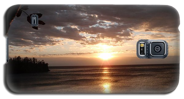 Galaxy S5 Case featuring the photograph Shimmering Sunrise by James Peterson