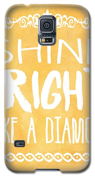 Shine Bright Orange Galaxy S5 Case by Pati Photography