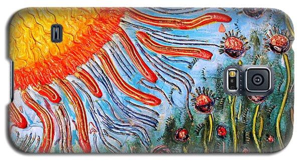 Shine On Me.. Galaxy S5 Case by Jolanta Anna Karolska