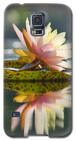 Shining Water Lily Galaxy S5 Case