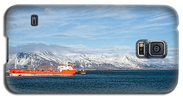 Ship In The Old Harbor II Galaxy S5 Case