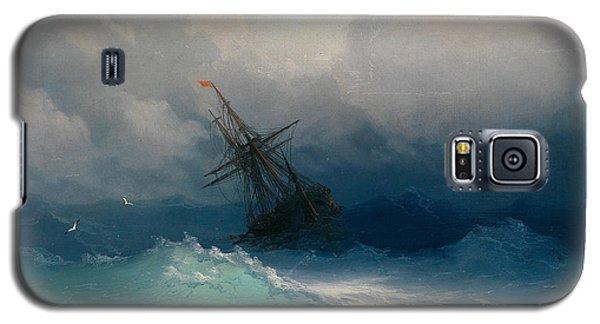 Ship On Stormy Seas Galaxy S5 Case