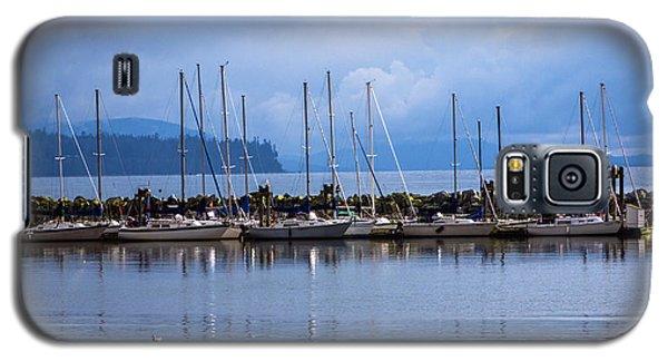 Galaxy S5 Case featuring the photograph Ship To Shore by Jordan Blackstone
