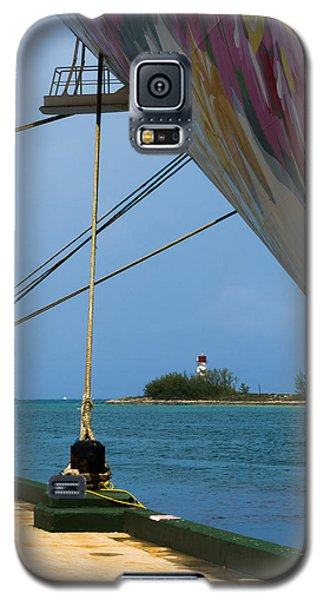 Ship's Ropes And Lighthouse Galaxy S5 Case