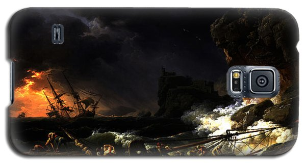Shipwreck In A Thunderstorm Galaxy S5 Case