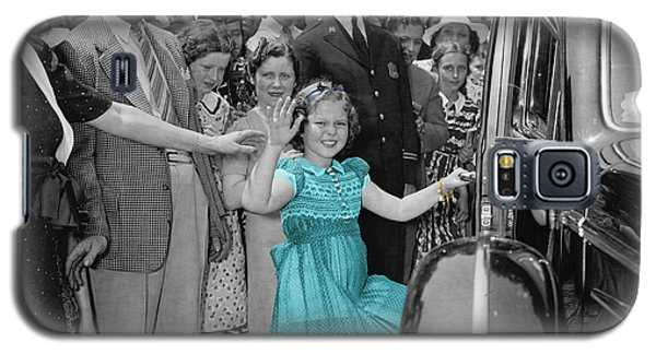 Shirley Temple Galaxy S5 Case - Shirley Temple by Andrew Fare