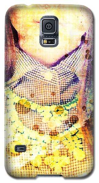 Galaxy S5 Case featuring the digital art Shirt And Necklace by Andrea Barbieri