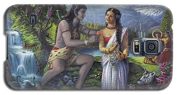 Shiva And Parvati Galaxy S5 Case