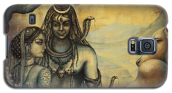 Shiva Parvati . Spring In Himalayas Galaxy S5 Case
