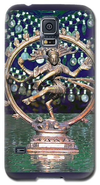 Shiva Upon The Water Galaxy S5 Case