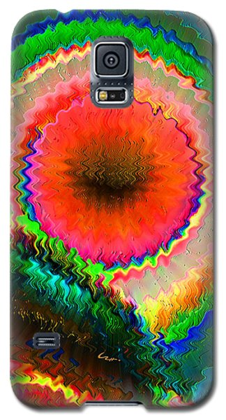 Galaxy S5 Case featuring the mixed media Shockwave by Carl Hunter