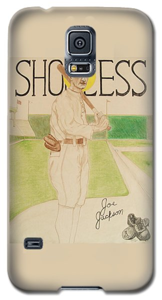 Shoeless Joe Jackson Galaxy S5 Case by Rand Swift