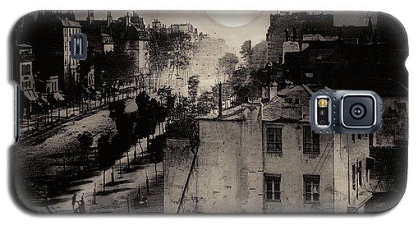 Shoeshine On The Boulevard Du Temple 1838  Paris Galaxy S5 Case