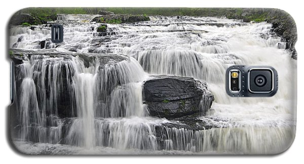 Galaxy S5 Case featuring the photograph Shohola Falls by Dan Myers