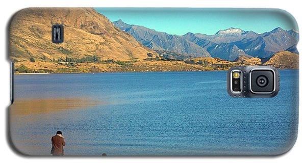 Shooting Ducks On Lake Wanaka Galaxy S5 Case by Stuart Litoff