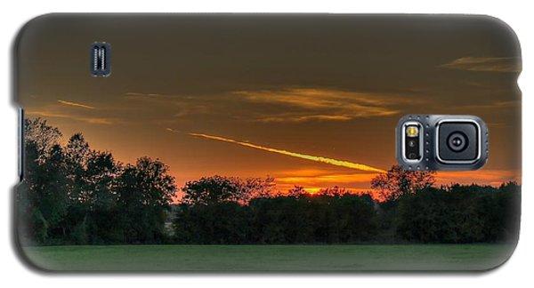 Shooting Sunset Galaxy S5 Case