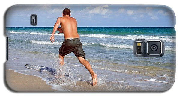 Galaxy S5 Case featuring the photograph Shore Play by Keith Armstrong