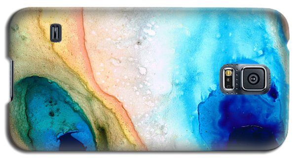 Shoreline - Abstract Art By Sharon Cummings Galaxy S5 Case by Sharon Cummings