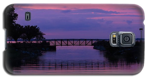 Shoreline Park At Dusk Galaxy S5 Case by Shawna Rowe