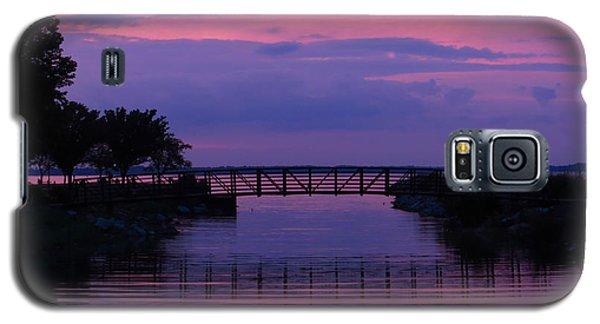 Shoreline Park At Dusk Galaxy S5 Case