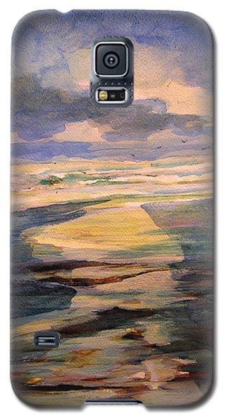 Shoreline Sunrise 11-9-14 Galaxy S5 Case