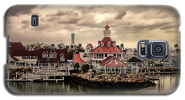 Shoreline Village In Long Beach Galaxy S5 Case
