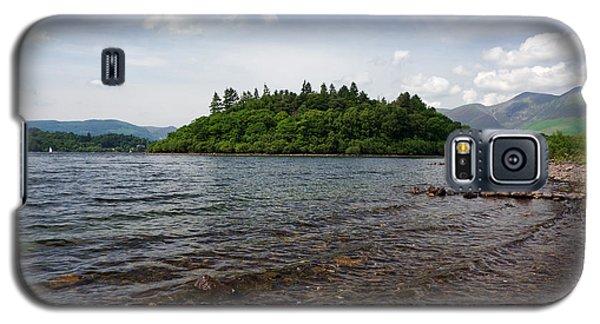 Shores Of Derwentwater Galaxy S5 Case by Graham Hawcroft pixsellpix