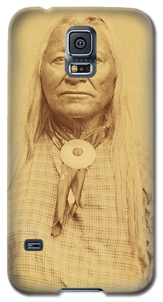 Shoshone Chief Washakie Galaxy S5 Case by Paul Ashby Antique Image