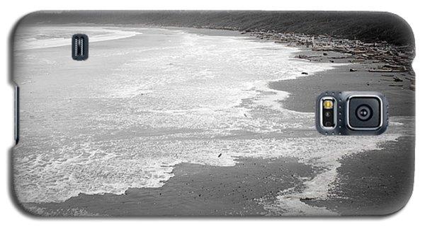 Winter At Wickaninnish Beach Galaxy S5 Case