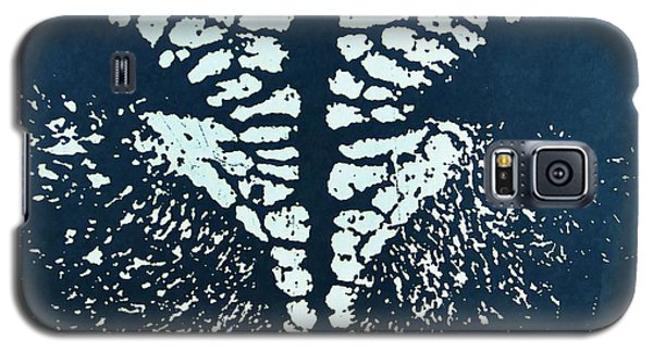 Show Lamb Nose Print Galaxy S5 Case by Larry Campbell
