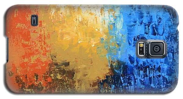 Galaxy S5 Case featuring the painting Show Me Your Glory by Linda Bailey
