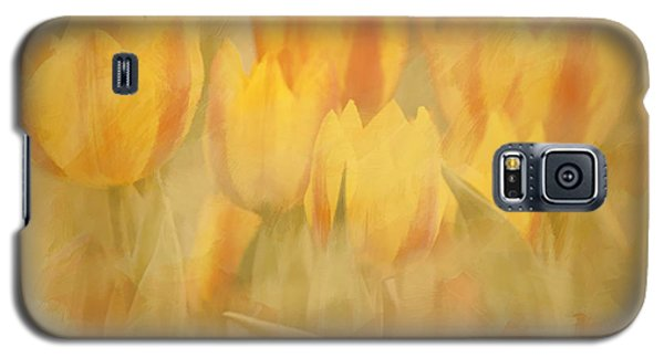 Showtime Tulips Galaxy S5 Case by Linda Blair