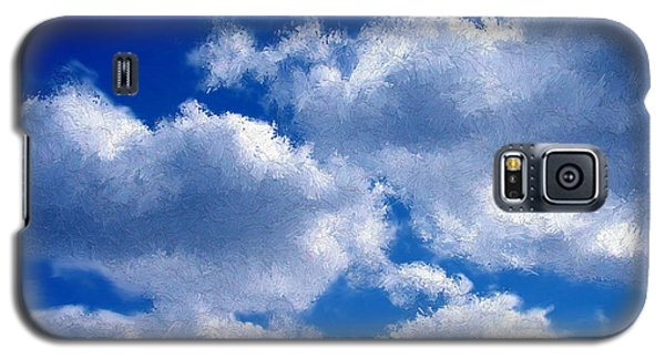 Shredded Clouds Galaxy S5 Case by Bruce Nutting