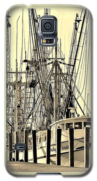 Galaxy S5 Case featuring the photograph Shrimp Boat by Debra Forand