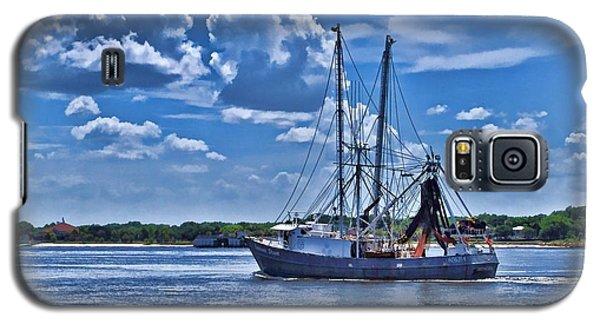 Shrimp Boat Heading To Sea Galaxy S5 Case